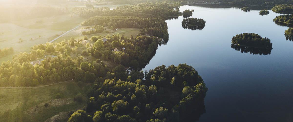 Bild över sjön Bunn
